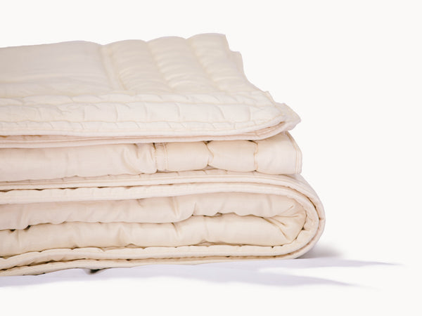 Organic Comforter - Handcrafted with 100% Organic Wool - PJs Sleep Company | Luxury Organic Mattresses & Bedding