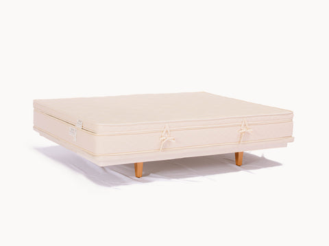 Organic Mattress Topper - Firm, Latex & Wool - PJs Sleep Company | Luxury Organic Mattresses & Bedding