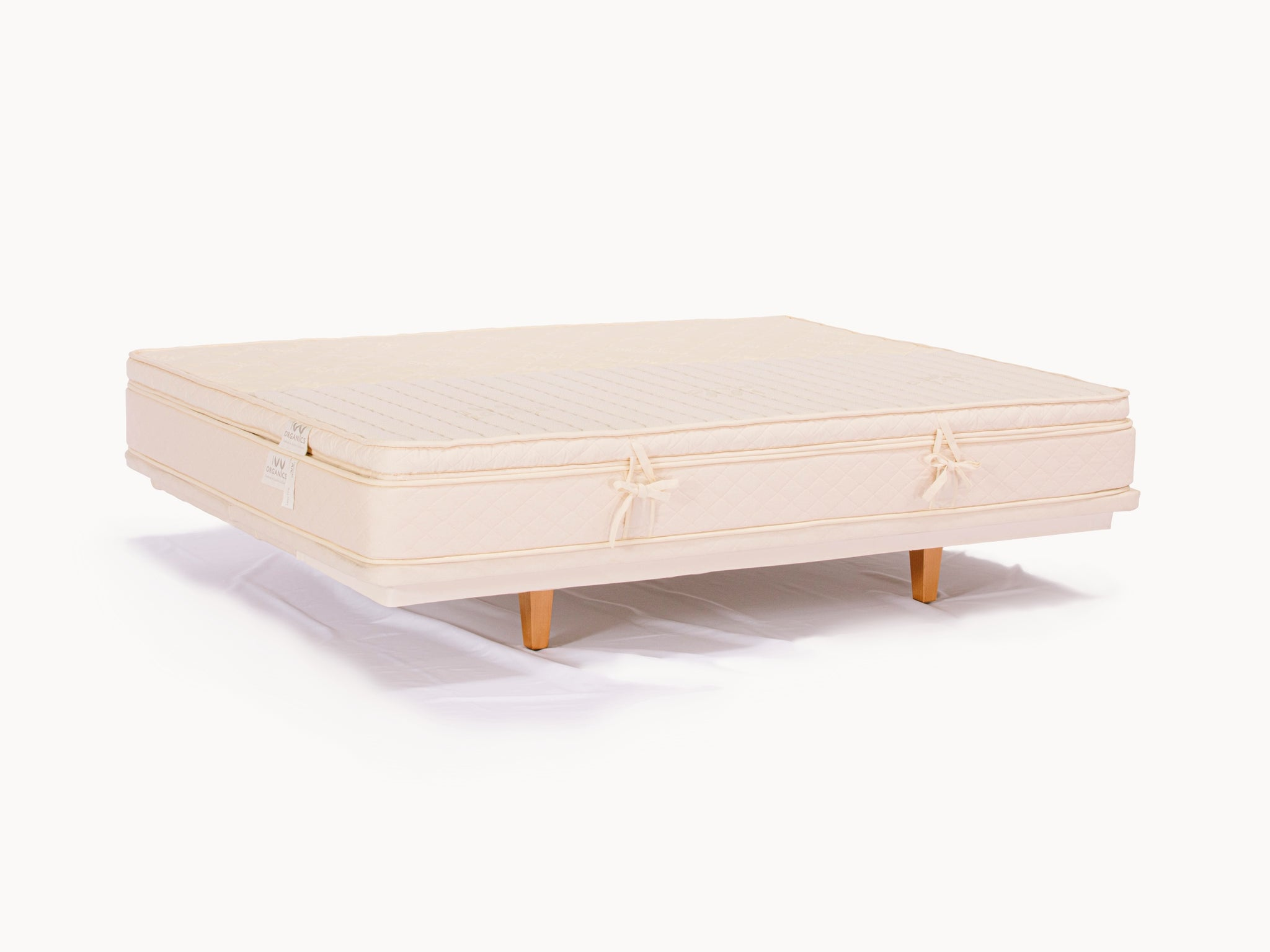 The Gemini - Split Organic Mattress Topper - PJs Sleep Company | Luxury Organic Mattresses & Bedding