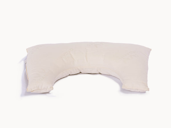 Organic Side Sleeper Pillow - Cotton & Wool - PJs Sleep Company | Luxury Organic Mattresses & Bedding