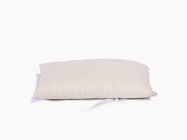 Organic Wool Pillow - GOTS Certified Organic Cruelty-Free Wool - PJs Sleep Company | Luxury Organic Mattresses & Bedding