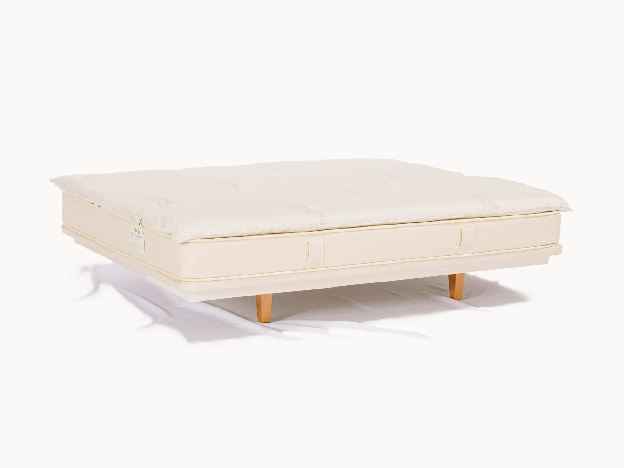 Organic Mattress Topper 2-Inch Wool - PJs Sleep Company | Luxury Organic Mattresses & Bedding