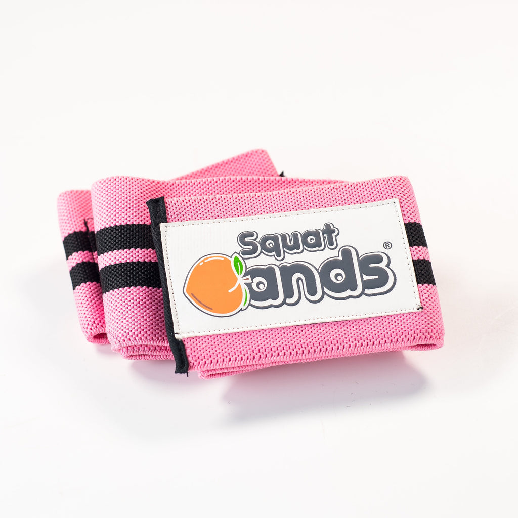 Squat Bands - Pink (1 pair)