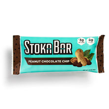 Load image into Gallery viewer, peanut chocolate chip stoka bar keto dairy free gluten free