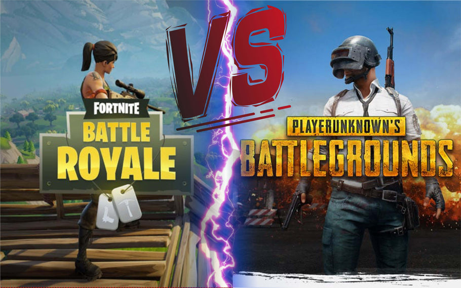 Fortnite VS Player Unknown Battlegrounds