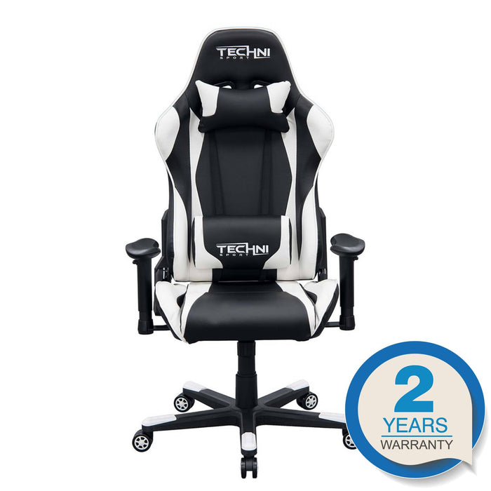 TS46 White Gaming Chair