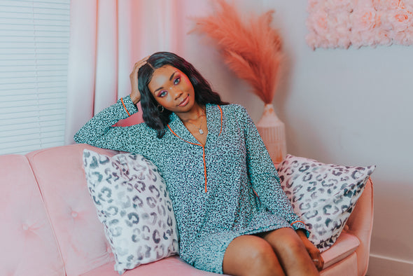 Animal Print PJ Sets