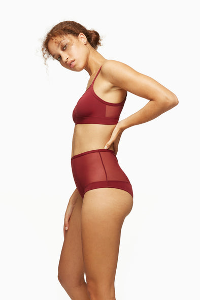 Blush Lingerie Bound High-waisted brief