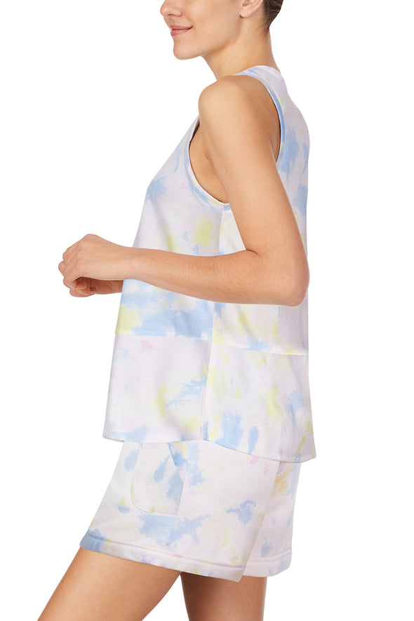 Refinery29 Tie Dye Loungewear Short Set