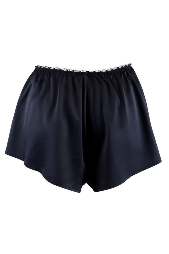 Pour Moi Dusk Satin High Waist Shorts