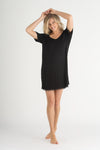 Honeydew Intimates All American Jersey Black Sleepshirt