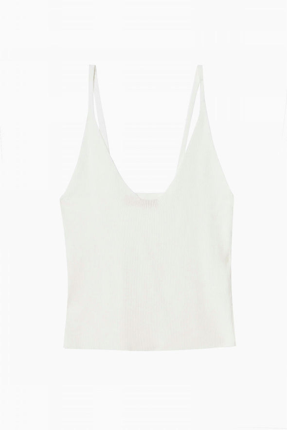 Wolf & Whistle Knitted Rib Lounge Tank