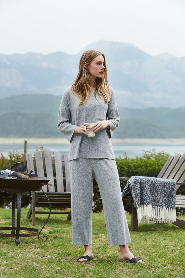 MOOD Pajamas Grey Loungewear Set