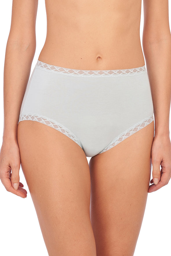 Natori Bliss Cotton Full Brief baby blue