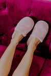 Flora Nikrooz Teddy Pink Slippers Hidden Intimates