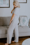 Honeydew All American Ivory Stripe PJ Set