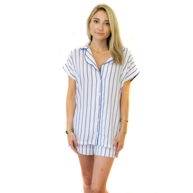 MOOD Pajamas Striped Sleep Set