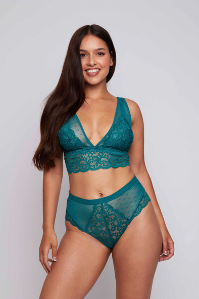 Eva High Waist Lace Brief