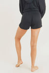 MONO B Mineral Wash French Terry Lounge Shorts
