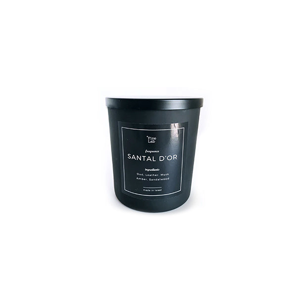 santal candle by fine lab