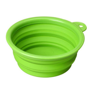 Silicone Collapsible Feeding Dog Bowl