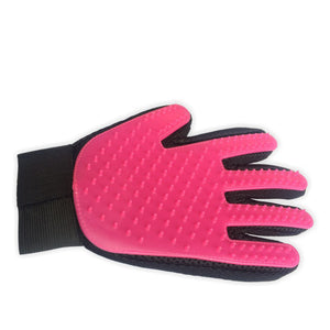 Pet Grooming Brush Glove Hair Remover