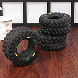 Pet Toys Small Rubber Tires