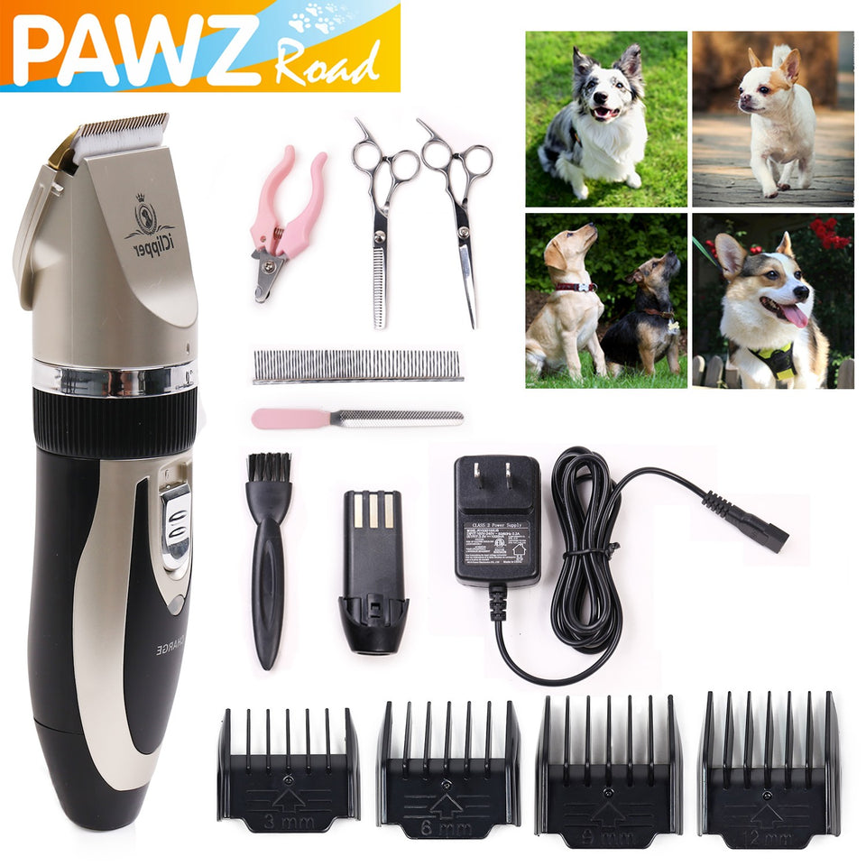 Pet Grooming Clippers Rechargeable