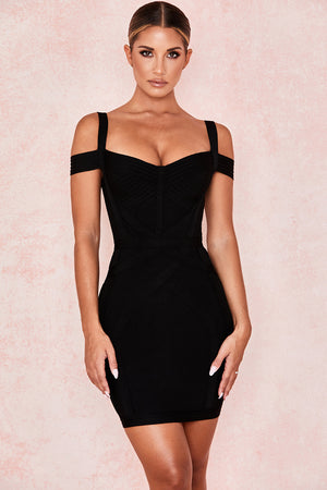 off shoulder lbd