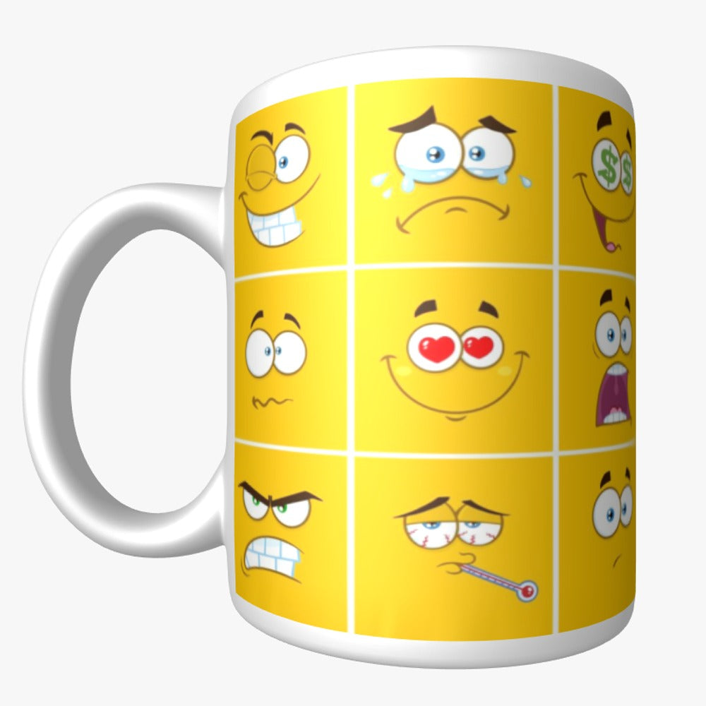 Cleva Coffee Mug - Mugshots : Yella!