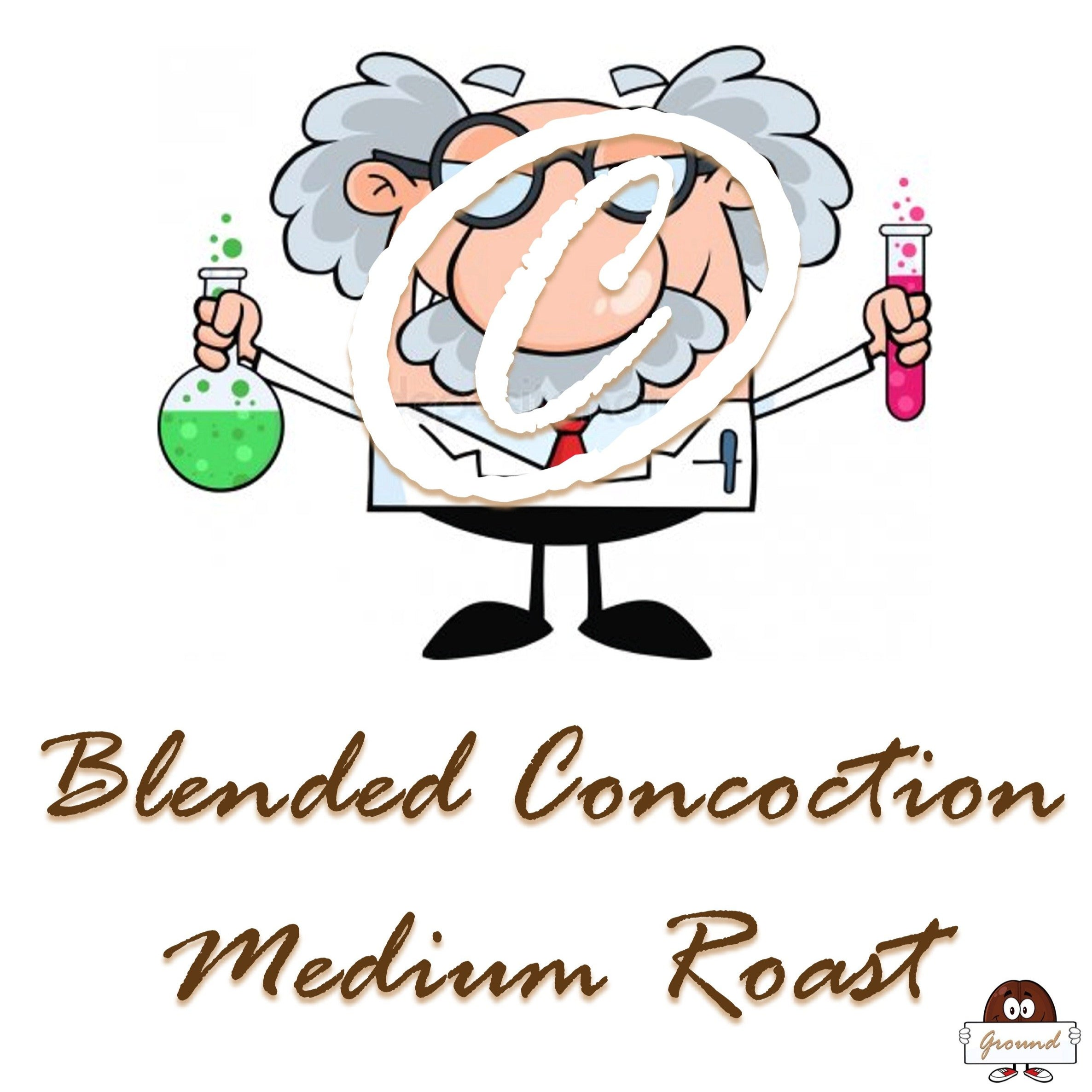 Blended Concoction Medium Roast Coffee - Bean