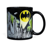 BATMAN Gotham City Color Changing Coffee Mug - Black