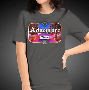 Adventure Time Travel Shirt Girls Travis Living Travel T-Shirt Womens Tees