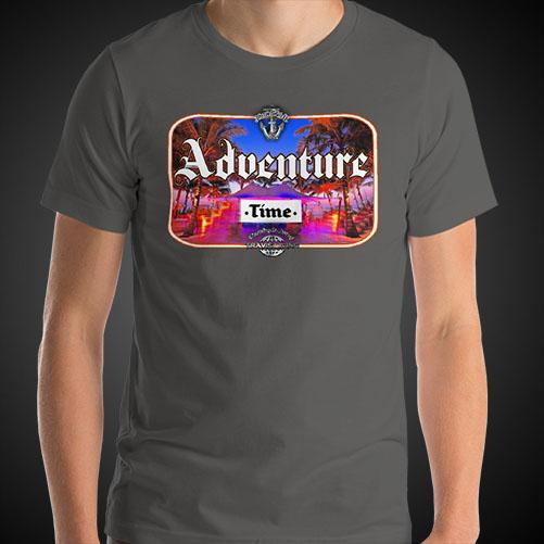 Adventure Time Travel Shirt Mens Travis Living Travel T-Shirt Men Tees