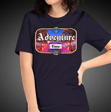 Load image into Gallery viewer, Adventure Time Travel Shirt Girls Travis Living Travel T-Shirt Womens Tees