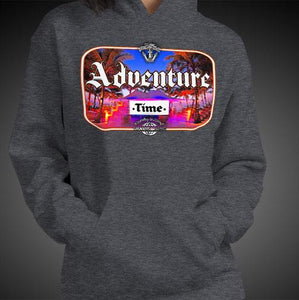 Adventure Time Travel Hoodie Girls Authentic Quality Hoodies Women Hoods - Travell Well