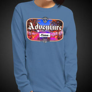 Adventure Time Travis Living Tee Girls Long Sleeve Shirt Authentic Quality Womens Shirts