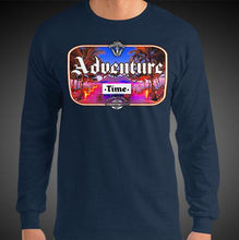 Load image into Gallery viewer, Adventure Time Travis Living Tee Men's Long Sleeve Shirt Authentic Quality Men's Shirts