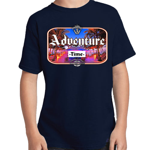 Travis Living Shirt Boys Travel Adventure Time T-Shirt Boy Tees