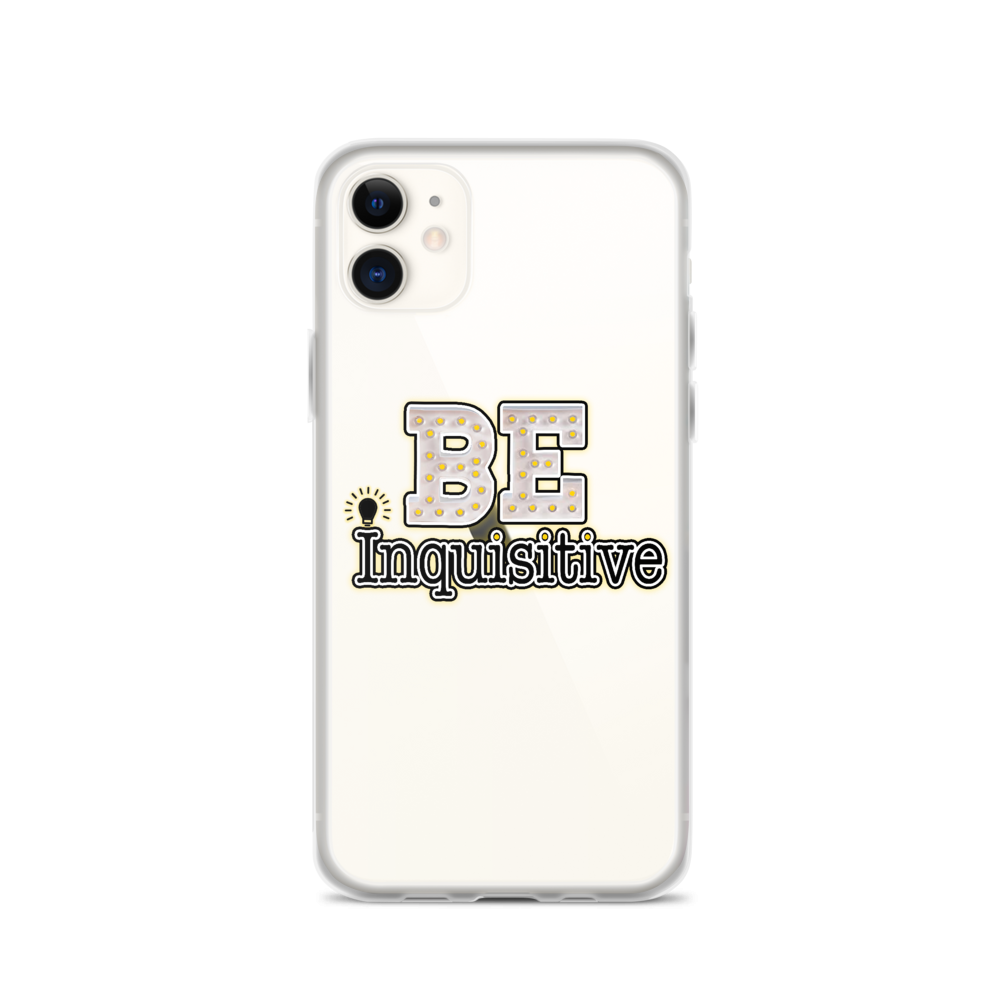 Max La Vida Be Inquisitive iPhone Cases