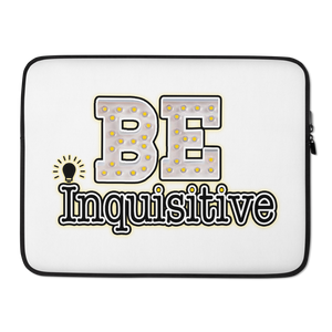 Max La Vida Be Inquisitive Laptop Cases