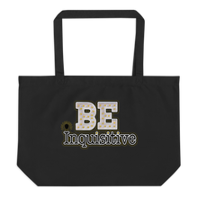 Load image into Gallery viewer, Max La Vida Be Inquisitive Large Tote Bags