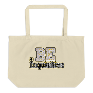 Max La Vida Be Inquisitive Large Tote Bags