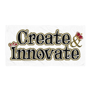 Max La Vida Create Innovate Towels