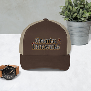 Max La Vida Create Innovate Retro Trucker Hats