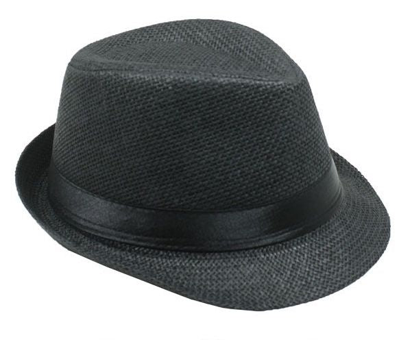 Black Fedora Jr Size Boys Girls Travis Living Hats Kids Size Black Fedoras Hats