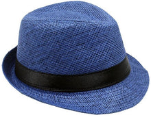 Load image into Gallery viewer, Fedora Jr Size Boys Girls Travis Living Hats Kids Size White Fedora Hats
