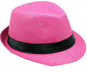 Fedora Jr Size Boys Girls Travis Living Hats Kids Size Pink Fedoras