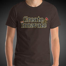 Load image into Gallery viewer, Max La Vida Men's Create Innovate Motivational Tee Shirt