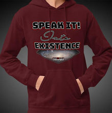 Load image into Gallery viewer, Max La Vida Men's Speak It Into Existence Motivational Hoodies